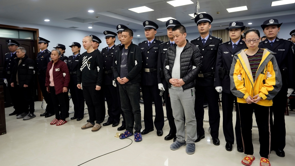 China sentences fentanyl smuggler in joint US probe