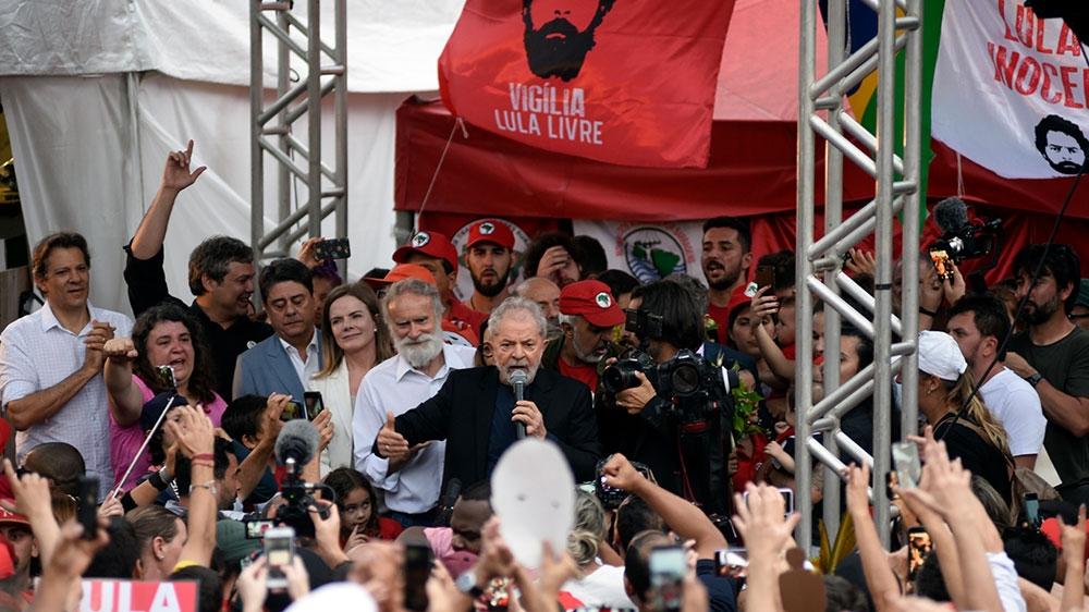 Lula freed