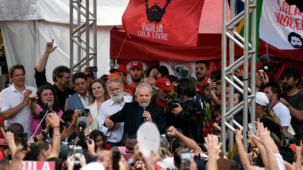 Lula freed