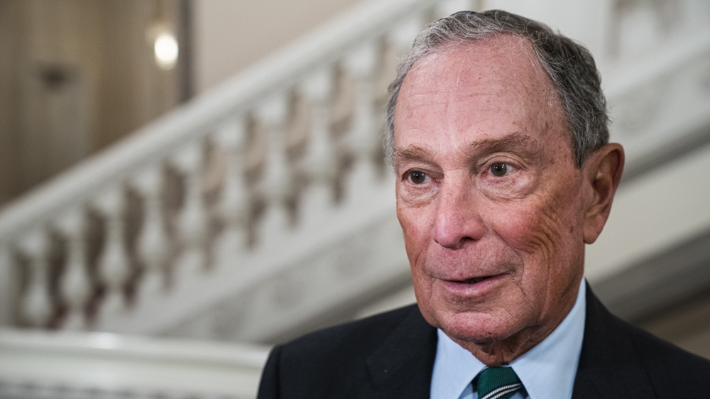 Michael Bloomberg formally announces US presidential candidacy