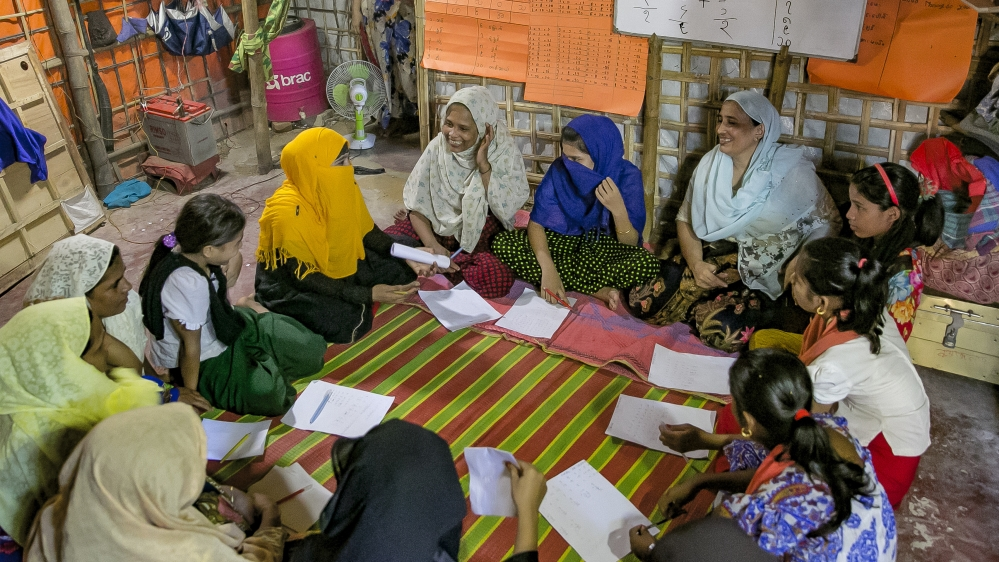 Rohingya Women Rise Up In Bangladesh's Refugees Camps