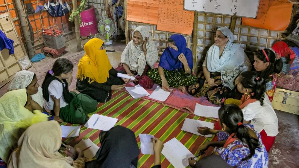 Rohingya Women Rise Up In Bangladesh
