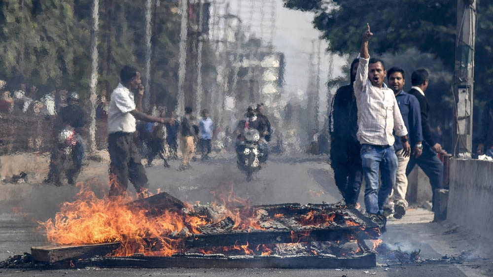 Assam protests, India