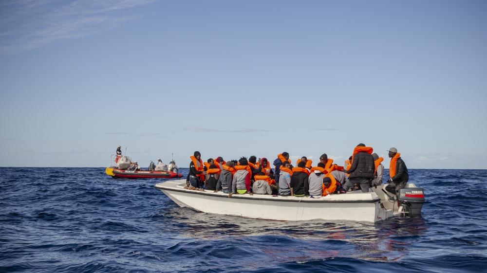 ocean viking mediterranean migrants rescue