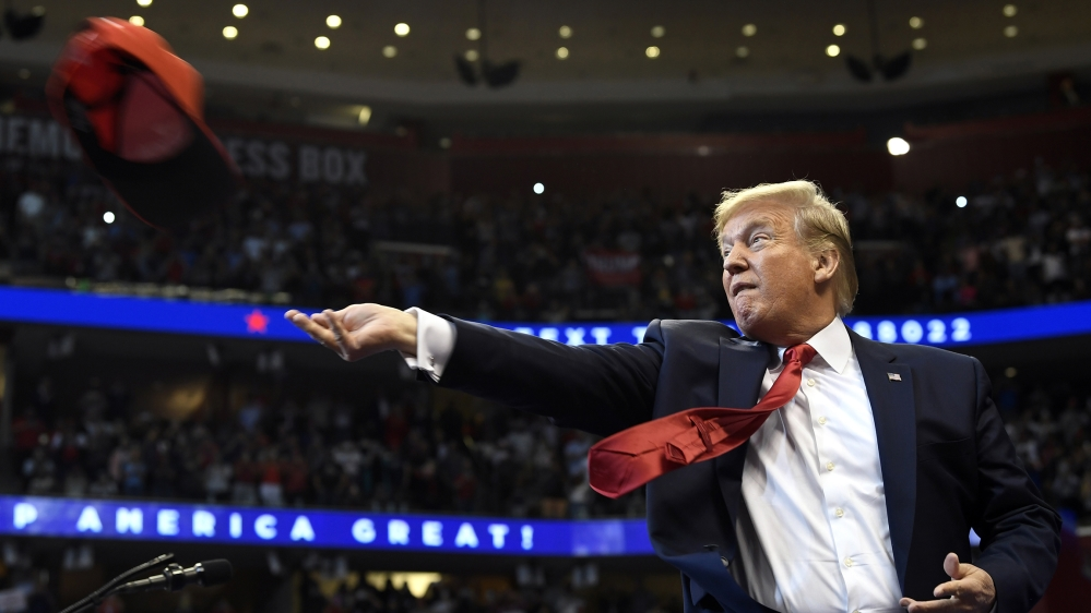 Trump to revive trademark campaign rallies in Oklahoma thumbnail