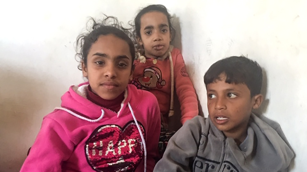 The survivors of Gaza's al-Sawarka family