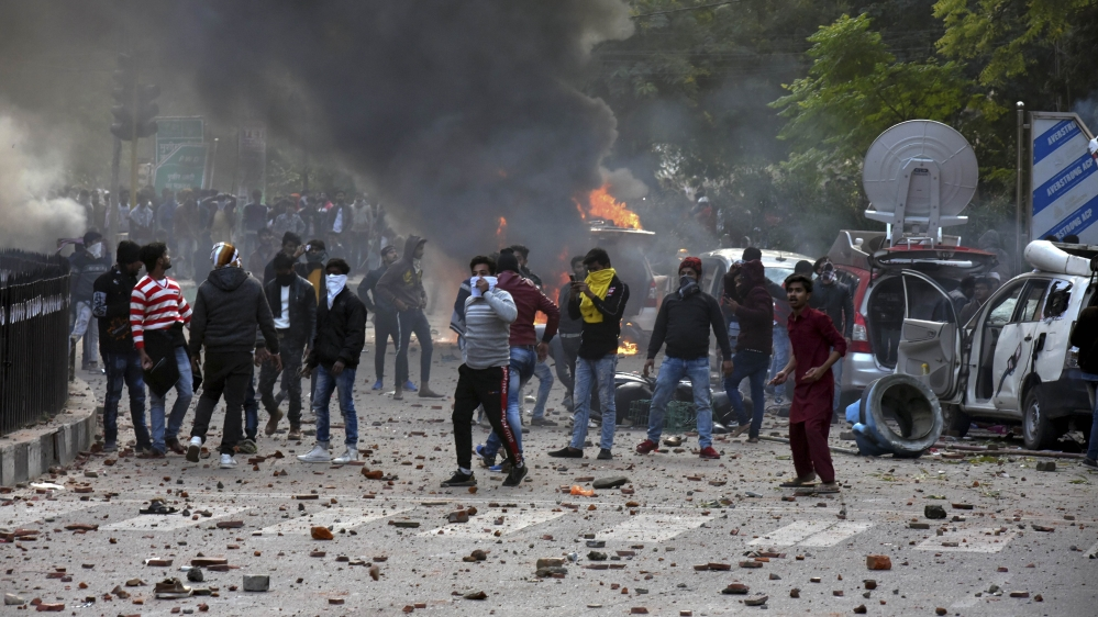 Six killed in India as anti-citizenship law protests rumble on