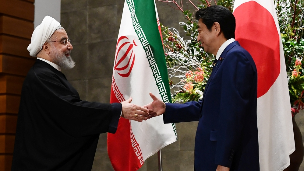 Iran's Rouhani visits Japan amid nuclear deal impasse