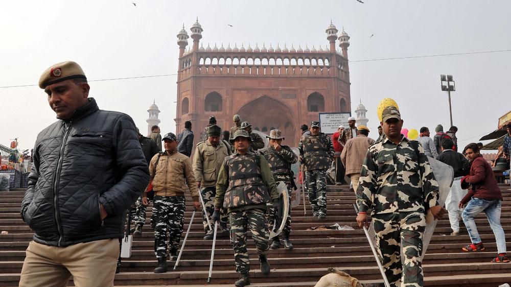 Jama Masjid police India