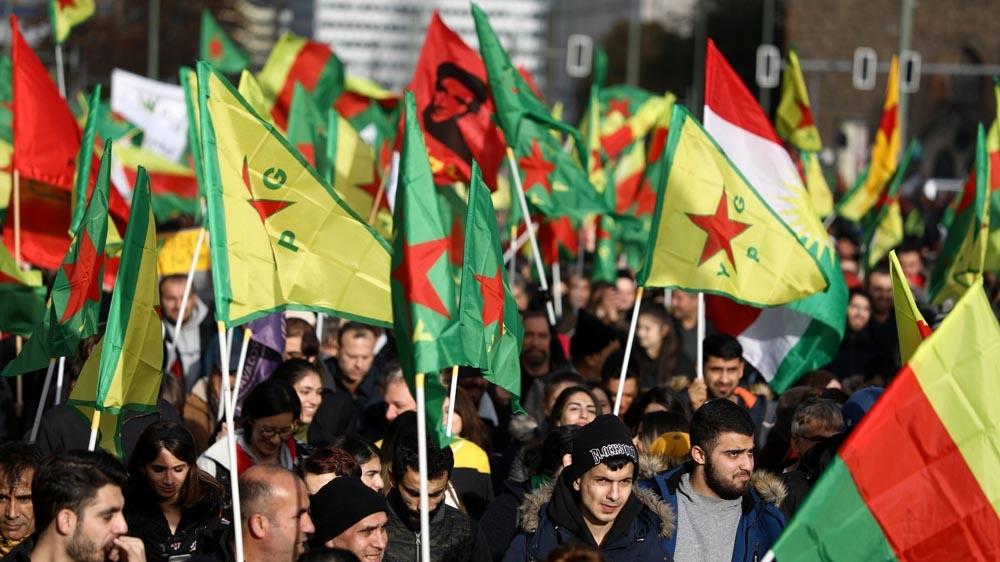 Pro-Kurdish demonstration