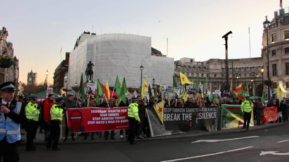 Anti-trump protest- London - Madeline Roache