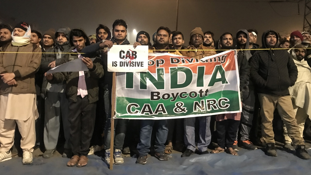 India CAA/protests [Ashish Malhotra/Al Jazeera]