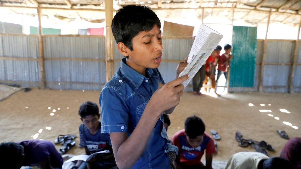 Rohingya school Reuters