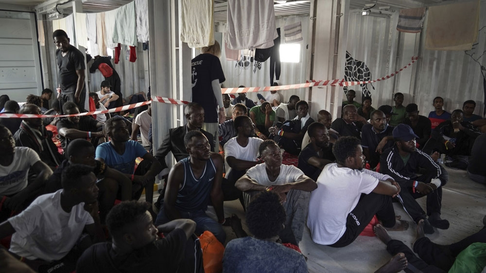 Libya migrant business