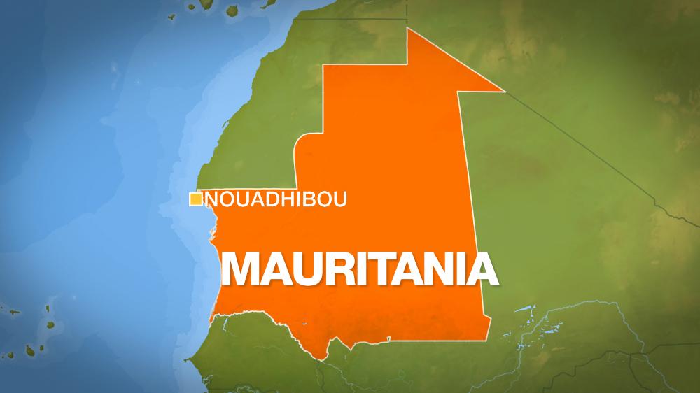 Mauritania Map Nouadhibou