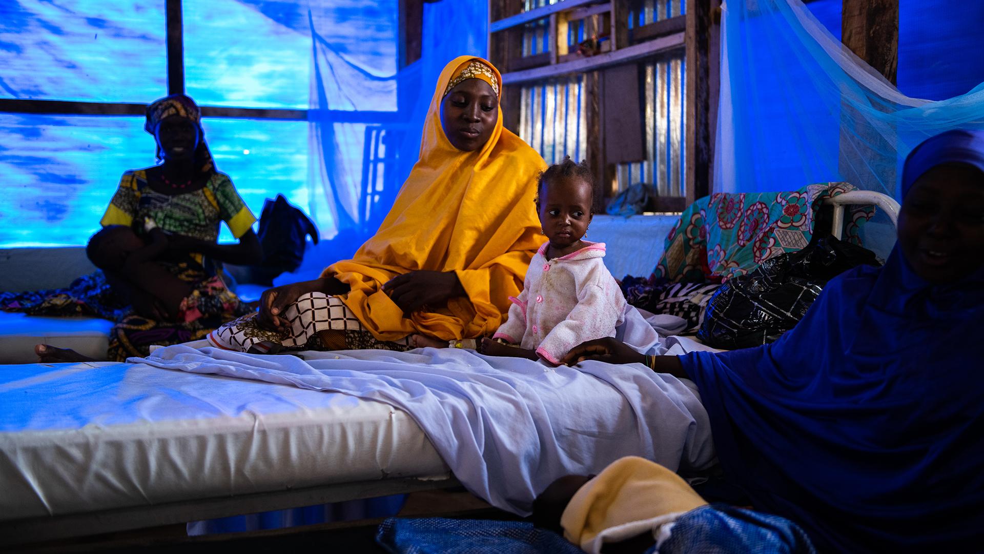 Fleeing conflict but finding hunger in northwestern Nigeria