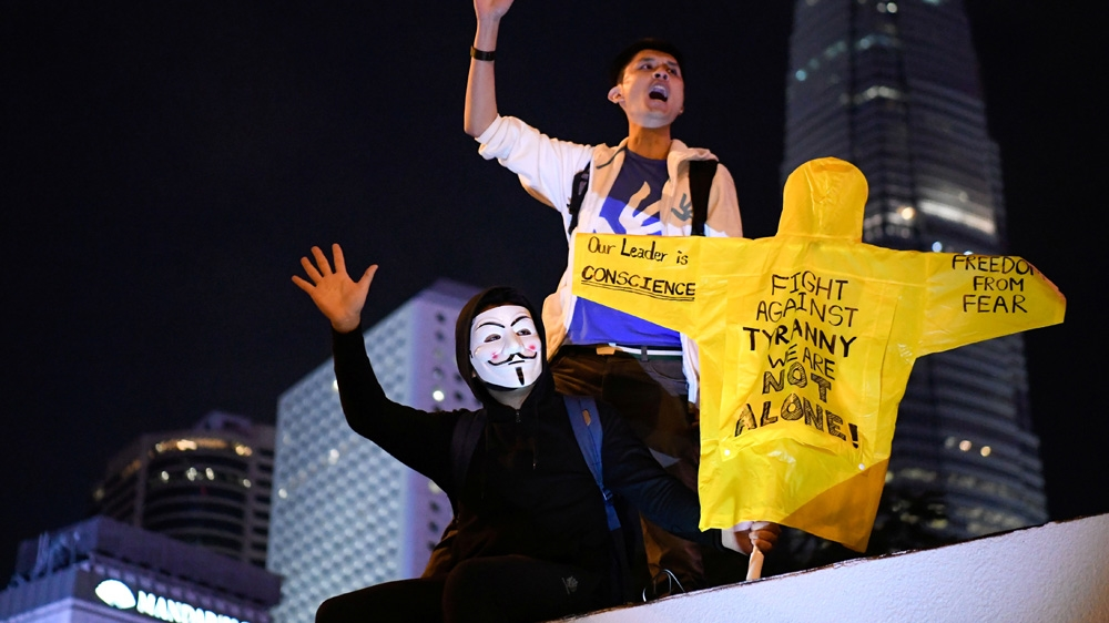 Mass Hong Kong pro-democracy rally marks six months of protests | News
