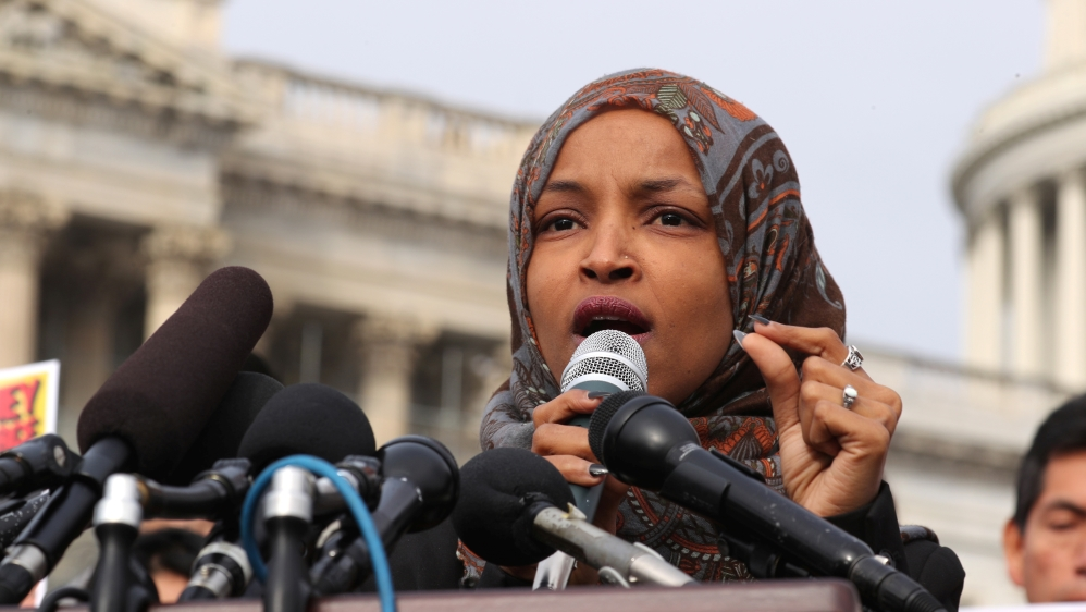 US politician Ilhan Omar apologises over Israel tweet