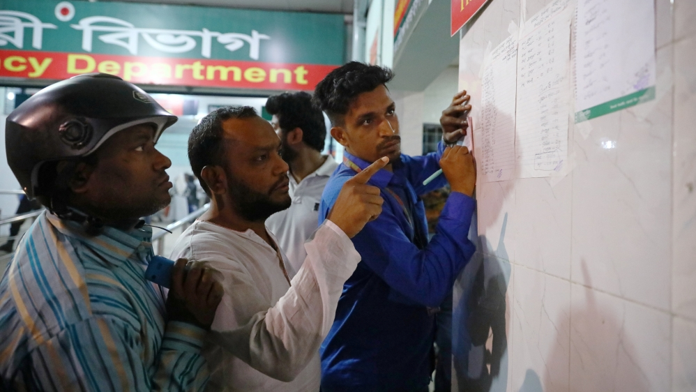 Death toll in Bangladesh fire lowered to 67