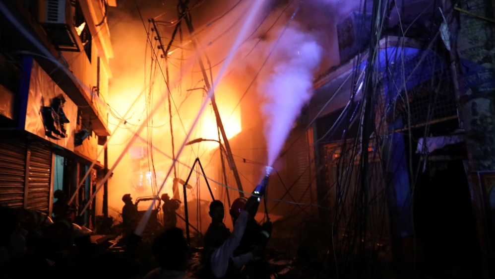 Fire kills dozens in centuries-old Bangladesh district