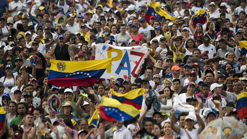 Rival concerts held as Venezuela power struggle intensifies