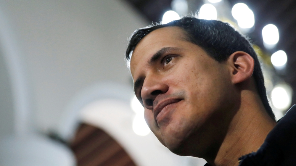 Venezuelan military official drops allegiance to Maduro