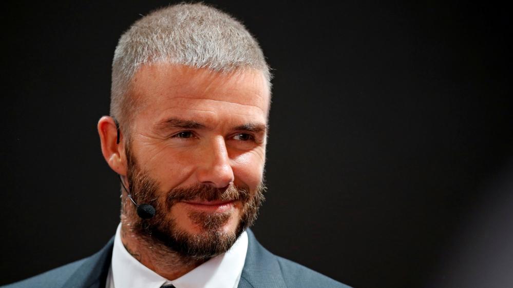 David Beckham Tot
