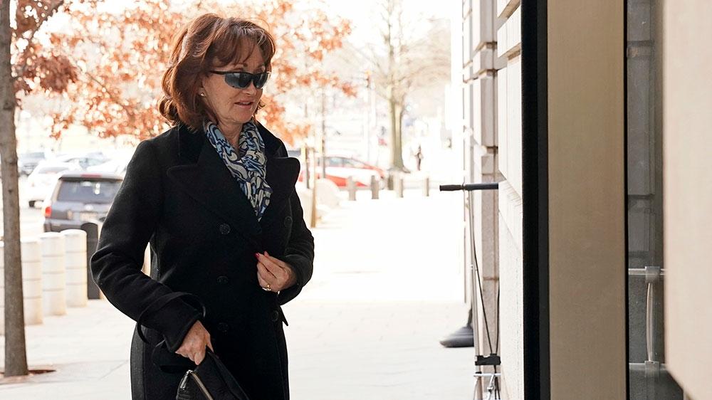 Kathleen Manafort attended her husband's hearing on Wednesday