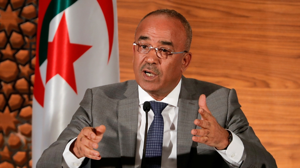 New Algerian prime minister to form 'technocratic government' thumbnail