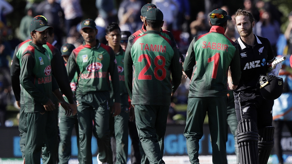 Bangladesh and New Zealand previously met in a Feb 16 match in Christchurch
