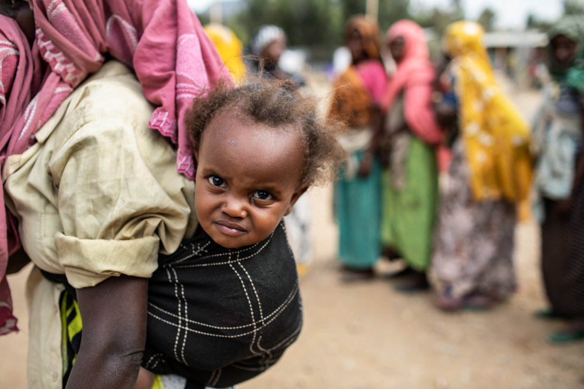 According to the World Health Organization, drought in developing countries like Ethiopia disproportionately affects the health of women and children due to the lack of access to food and clean water. [Will Baxter/CRS]