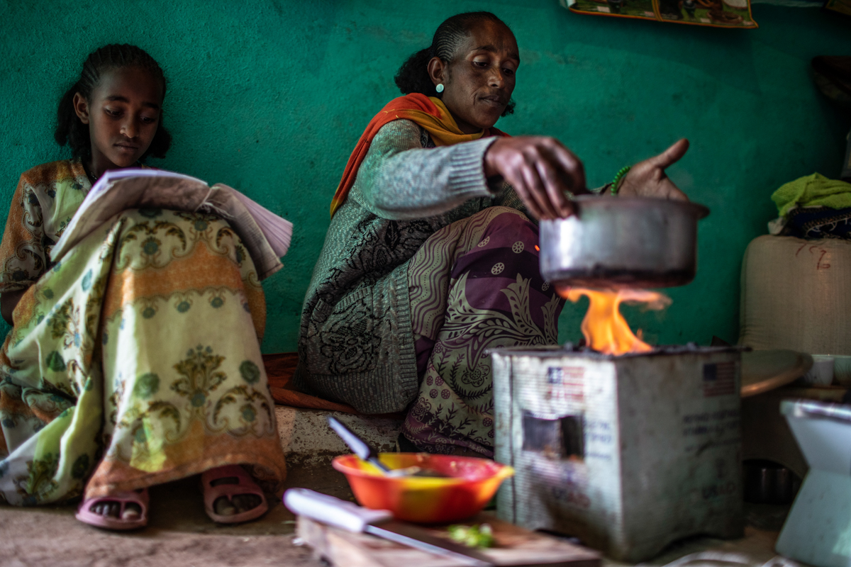 With the family's basic food needs met, parents like Birhan face less of a financial burden and are more likely to keep their children in school. [Will Baxter/CRS]