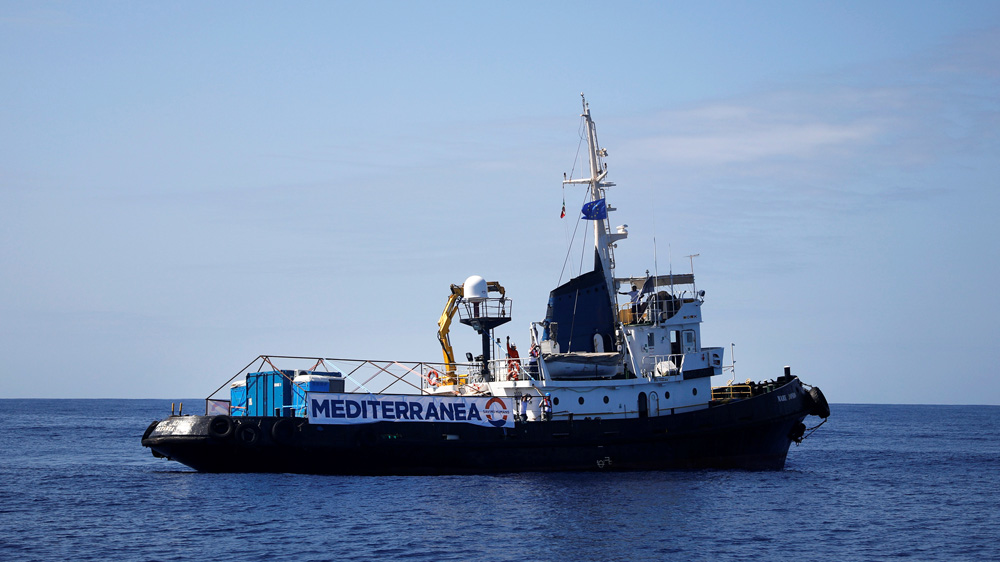 Italian NGO ship rescues 49 migrants, heading to Lampedusa