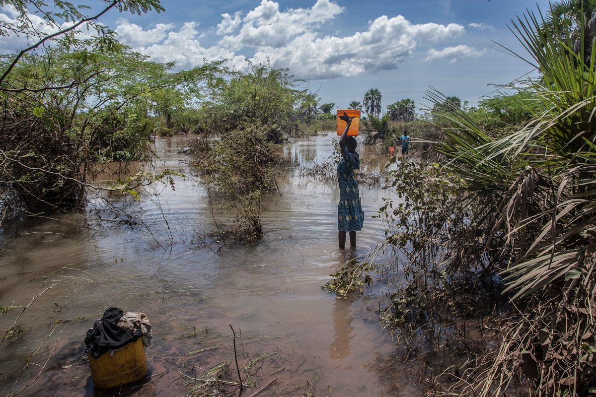 At least 56 people have died in flood-hit areas in Malawi, according to government sources. [Amos Gumulira/AFP]