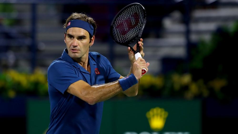 Roger Federer wins Dubai championships for 100th career title thumbnail