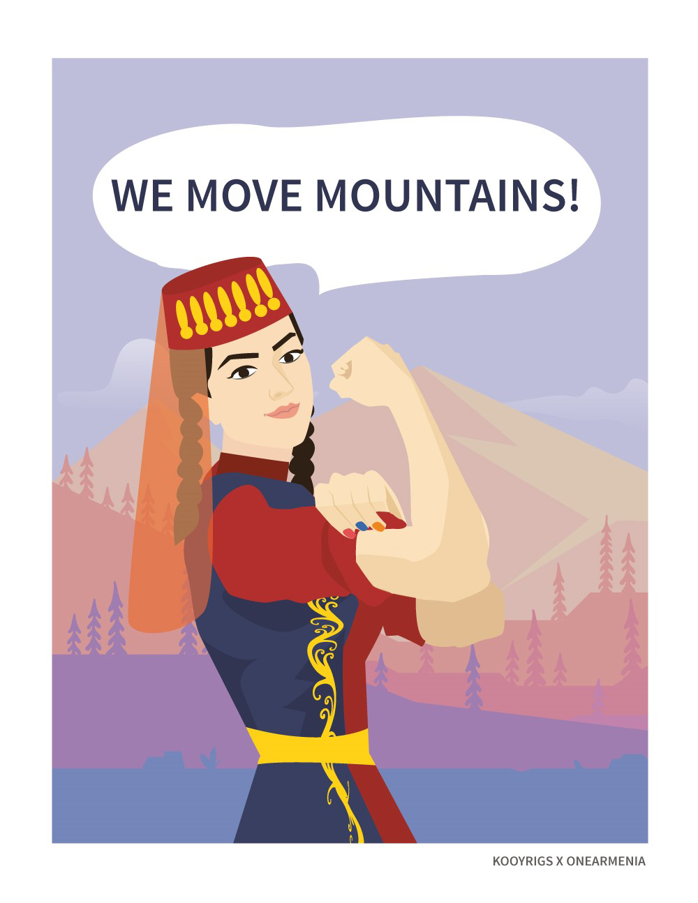 'We move mountains': Feminism and art in Armenia
