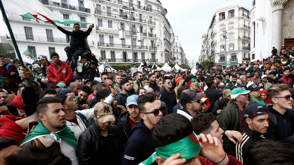 Algeria's Bouteflika names new government amid ongoing protests thumbnail