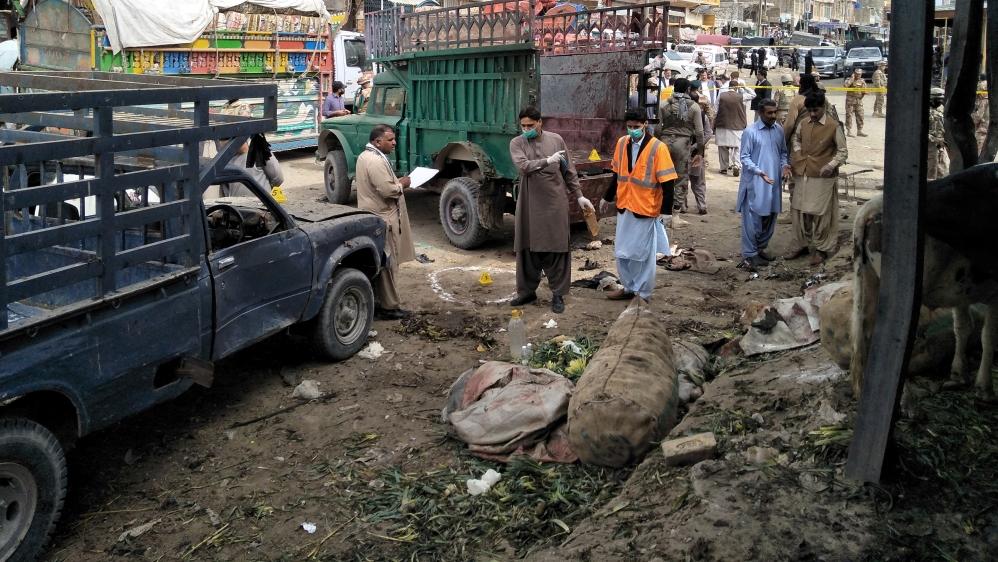 Pakistan: Deadly explosion rips through Quetta market | News | Al