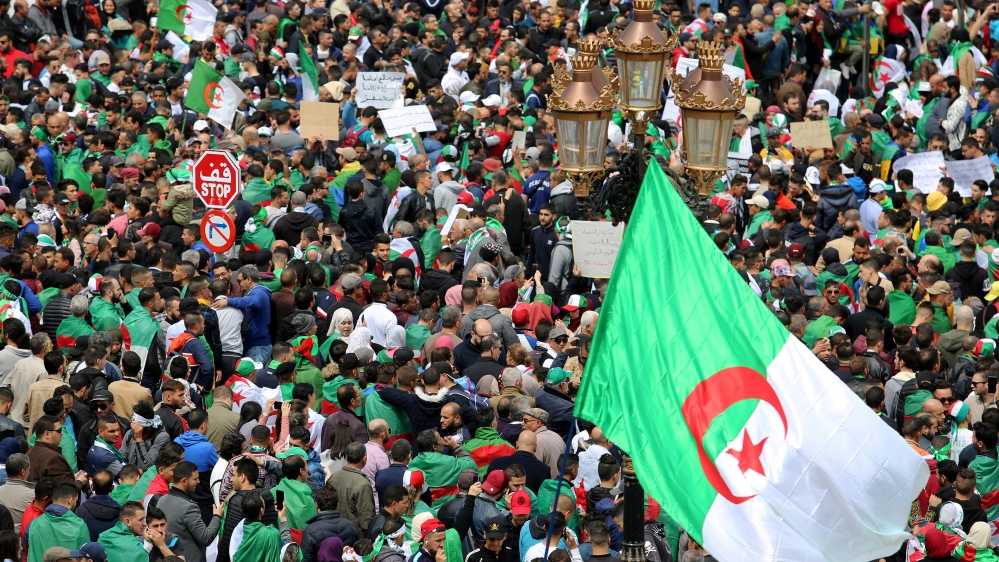Protesters in Algeria demanding more change after Bouteflika resigns