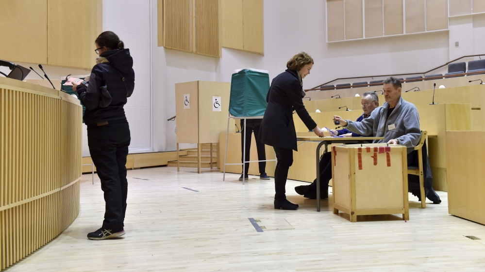 What is the strongest message from the Finnish election result? | GME
