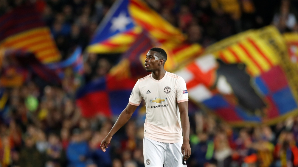 Manchester United were unable to score in either legs of their quarter-final against Barcelona