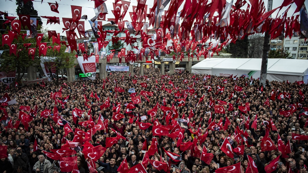 Turkey's opposition takes office in Istanbul, appeal still pending