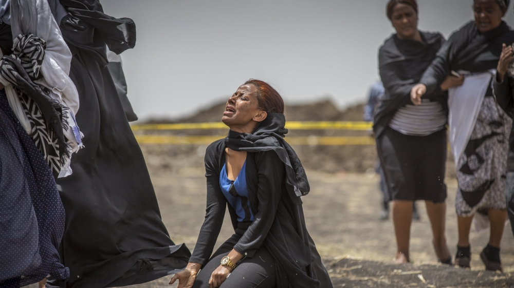 Justice must be done for the victims of the Ethiopia plane crash