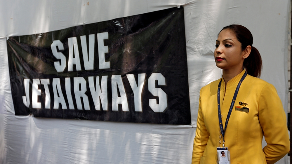 Further tailspin for Jet Airways, shares tank over 23 per cent
