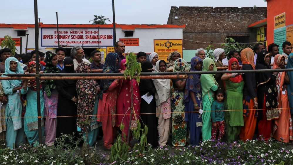 Indians vote in second phase of parliamentary elections