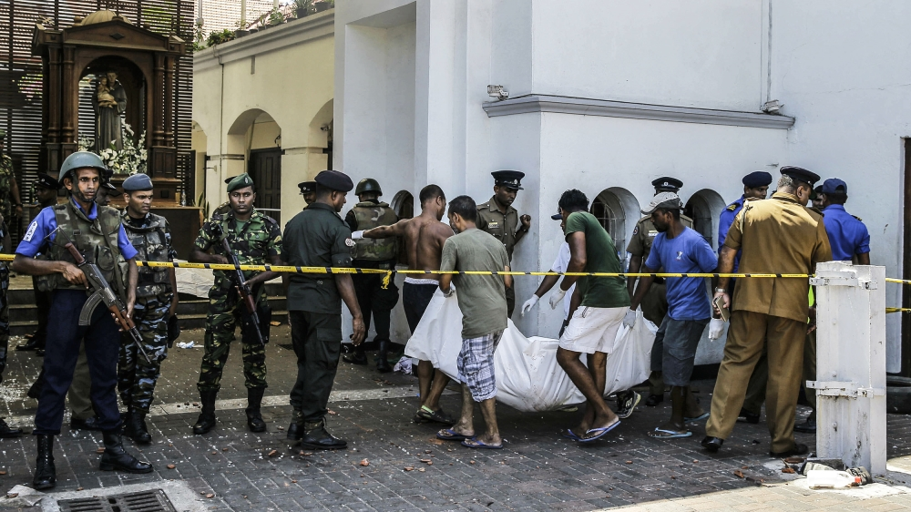Sri Lanka Easter bombings: Mass casualties in churches and
