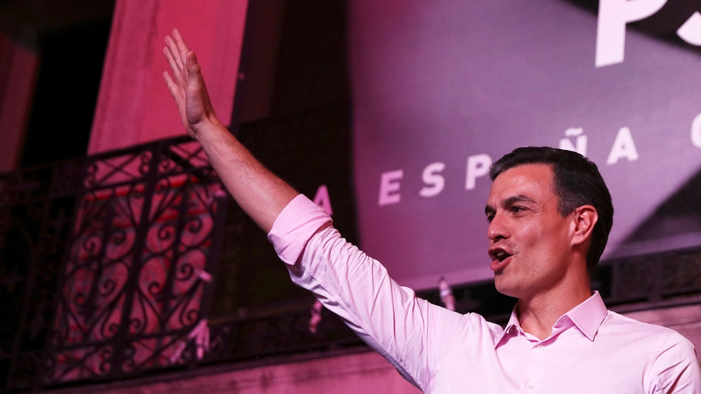 Spain election: Socialist PSOE wins but no clear majority