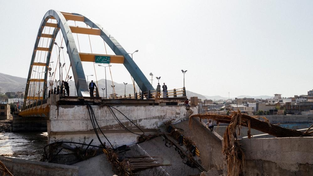 Iran evacuates six towns over flooding
