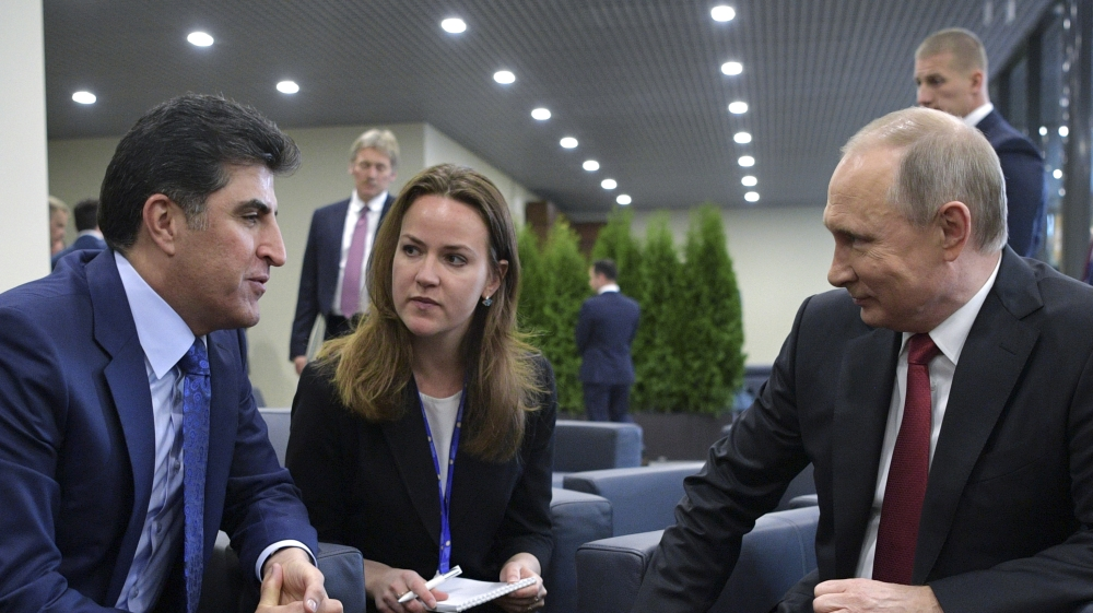 What did Russia get from its KRG gamble?