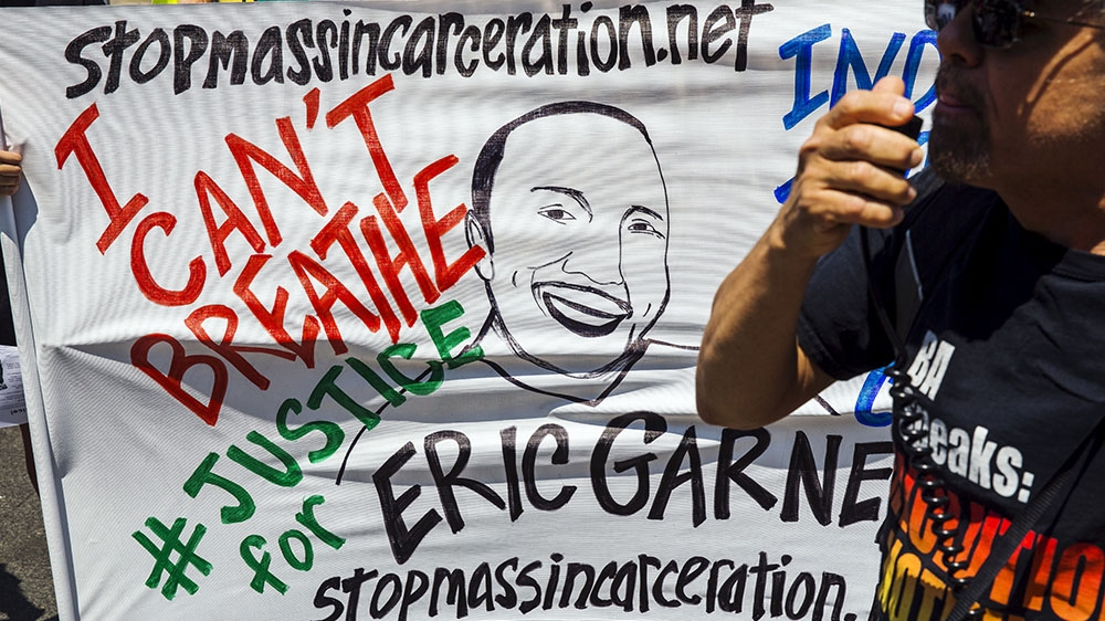 #BlackLivesMatter: NYPD sacks officer over 2014 death of Eric Garner